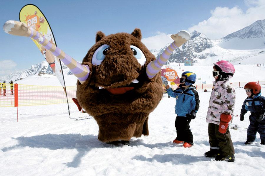 Family holiday at the Bergeralm ski resort