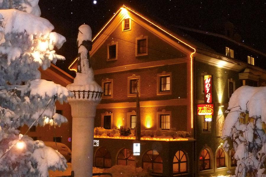 Fassade Winter