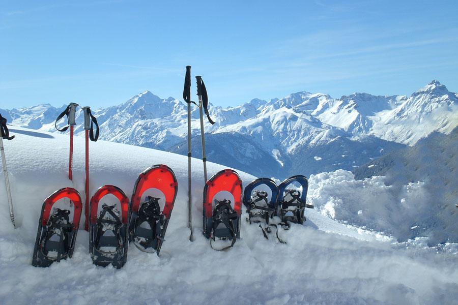 Schneeschuhtour Lärchenwiesenweg