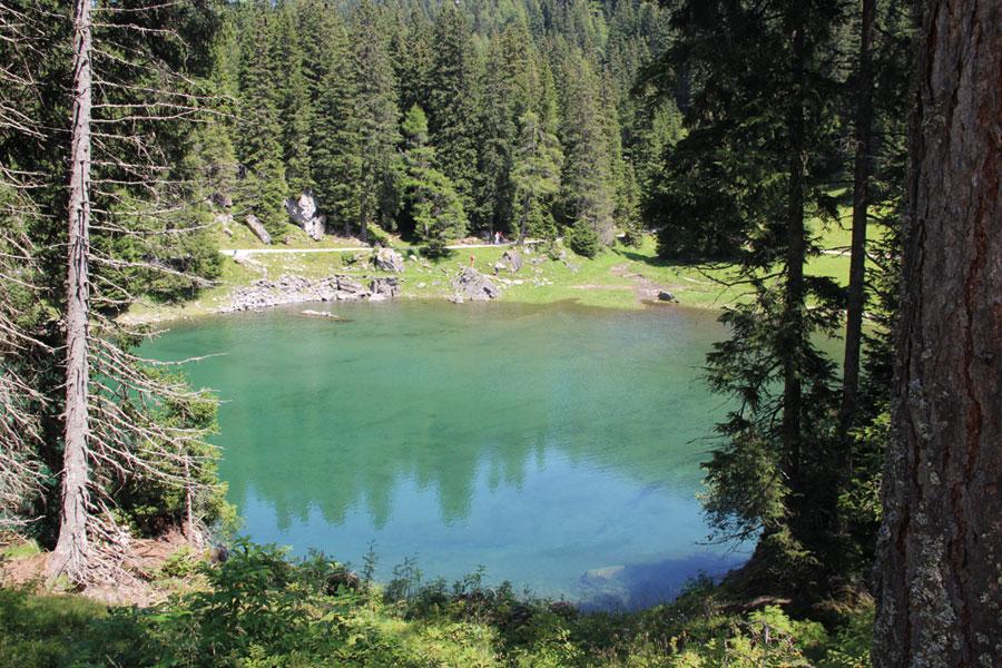 Wanderung zum Obernbergersee