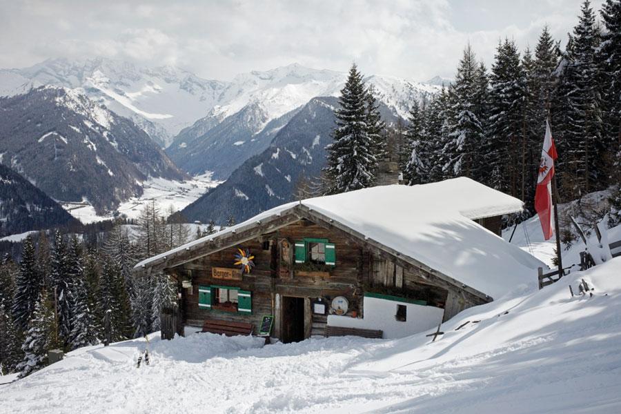 Tirol winter Bergeralm