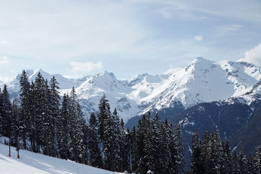 Tirol Winter Gipfel