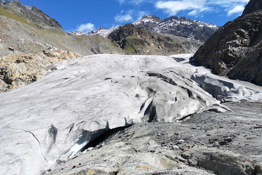 Gepatschferner glacier gate
