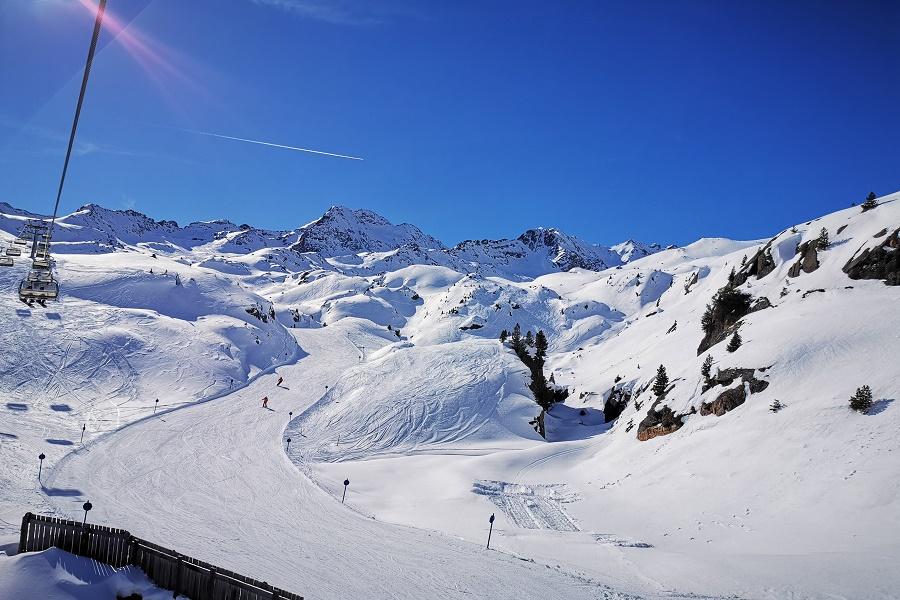 Kaunertaler-Gletscher-Talabfahrt