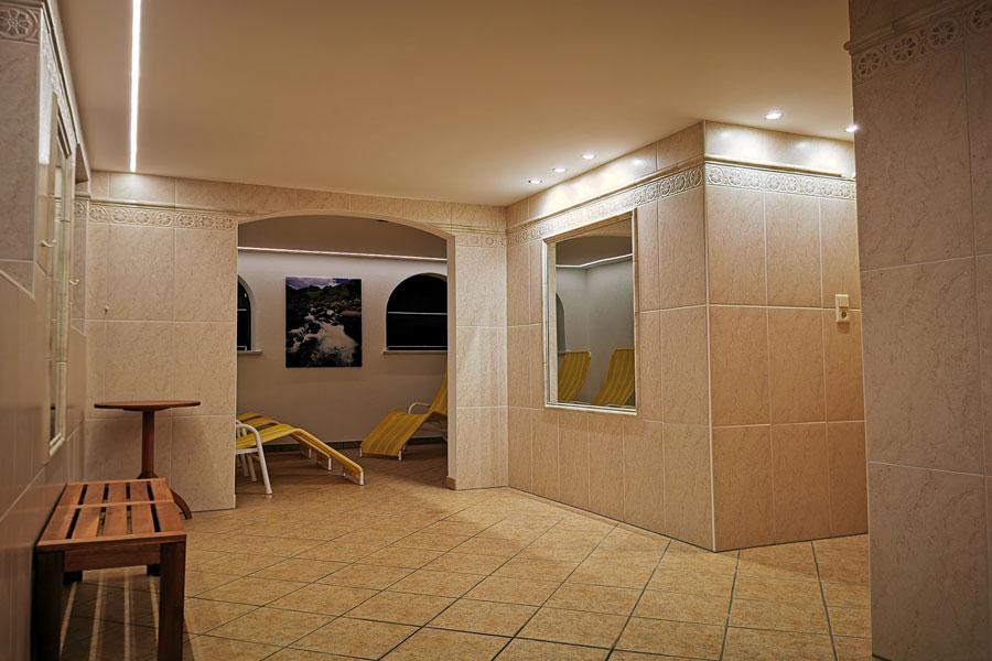 Sauna & relaxation room