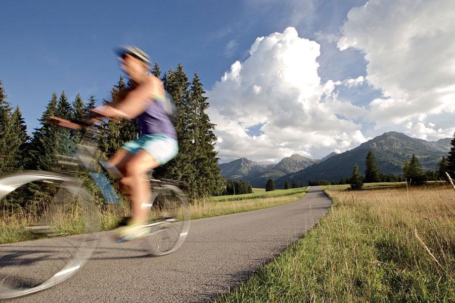 Cycling, hiking