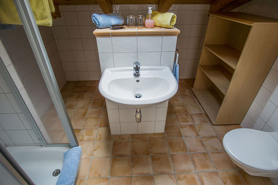 Tres-Badezimmer