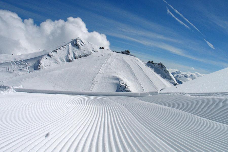 Gefrorene Wand-Hintertuxer Gletscher