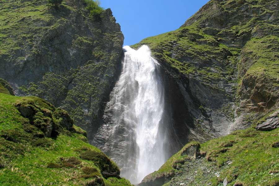Schleierwasserfall Hintertux