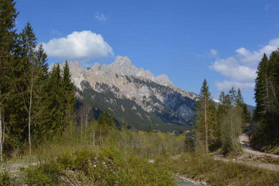 Berge im Sommer