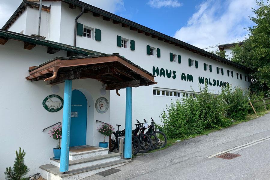 Hotel Haus am Waldrand - Eingang