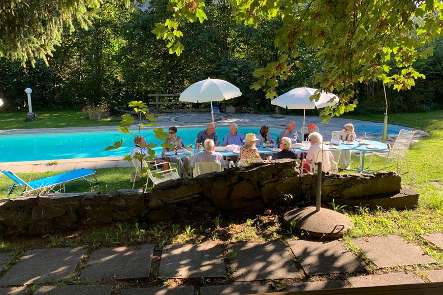 BBQ am Pool